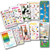 Educat Poster Pack - Early Learning (Grade R)
