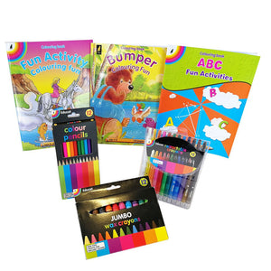 Educat super fun colouring activity pack