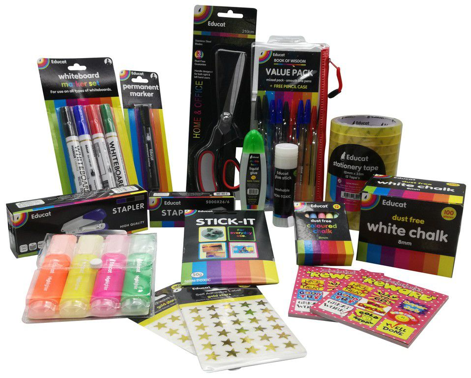 Educat Teachers Essential Stationery Pack