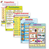 Educat wall chart 5 pack English grammer