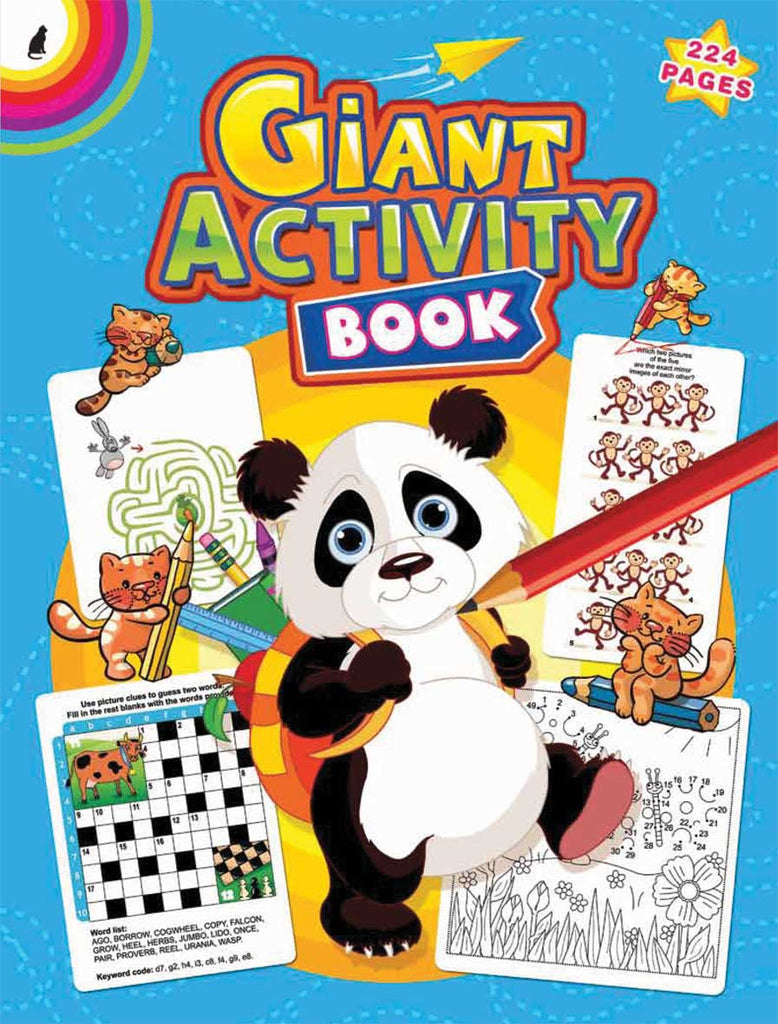 GIANT ACTIVITY COLOURING BOOK