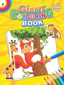 GIANT COLOURING BOOK