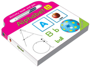 Activity board book and Pen Alphabet- English