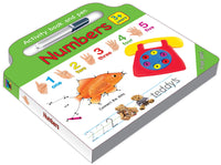 Activity board book and Pen Numbers- English