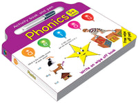 Activity board book and pen Phonics- English