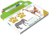 Activity board book and pen Wildlife - English