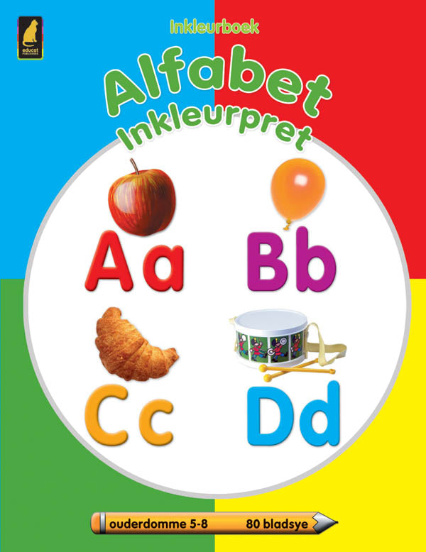 Alphabet Colour Fun (80pg) Afrikaans