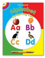 Alphabet Colr Fun (80pg) English