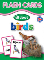 Big Flash Cards - Birds - English