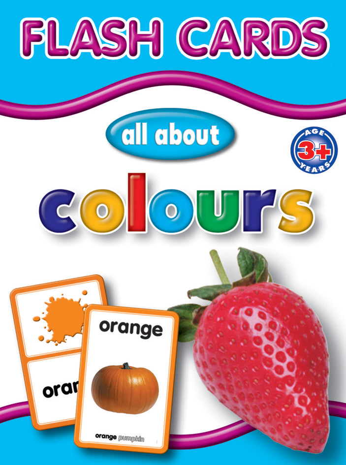 Big Flash Cards - Colours - English