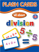 Big Flash Cards -  Divisions - English