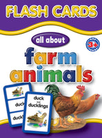 Big Flash Cards -  Farm Animals - English