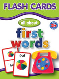 Big Flash Cards - First Words - English