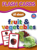 Big Flash Cards -Fruit & Vegetables ENGLISH