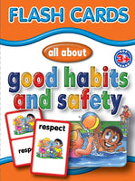 Big Flash Cards - Good Habits & Safety - English