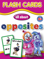 Big Flash Cards -  Opposites - English