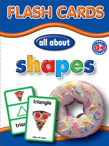 Big Flash Cards- Shapes - English