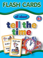 Big Flash Cards - Tell the Time - English