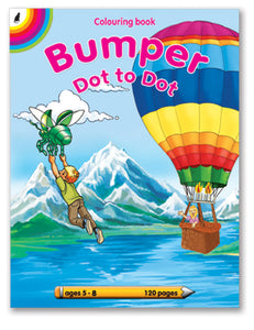 COLOURING BOOK - Bumper Dot to Dot 120pg
