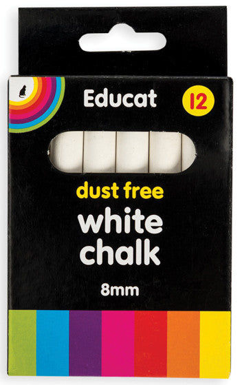 White Chalk Box (12's) 8mm