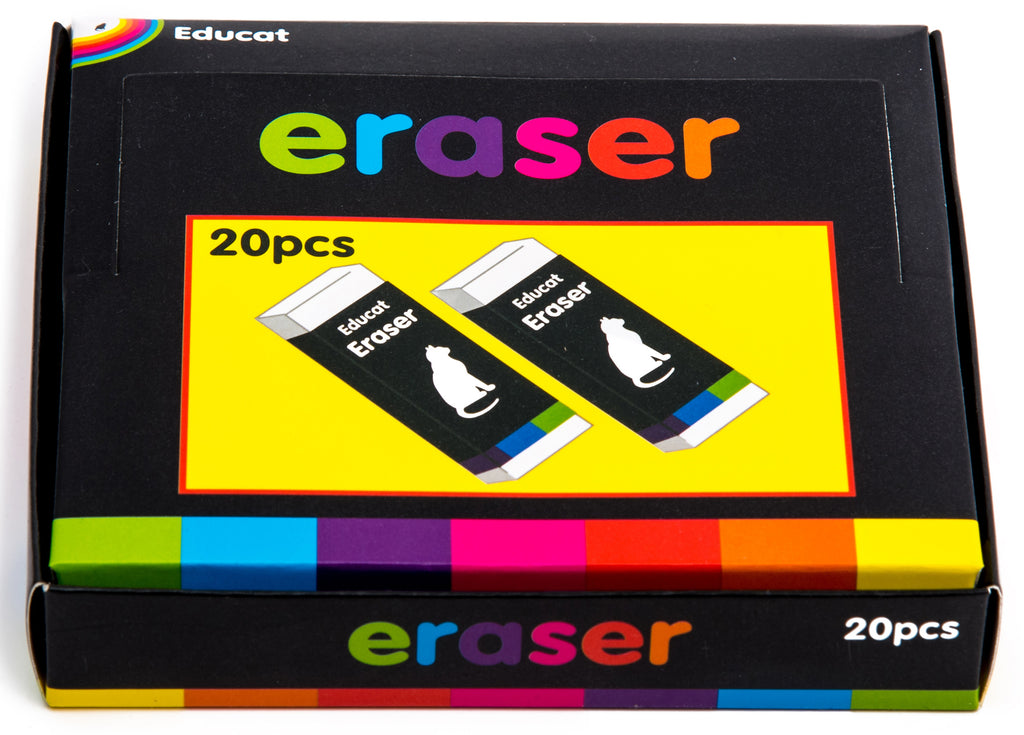 Erasers Pack (20 pcs)