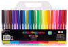 FIBRE TIP COLOURING PENCILS-24