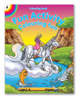 COLOURING BOOK - Fun Activity 48pg