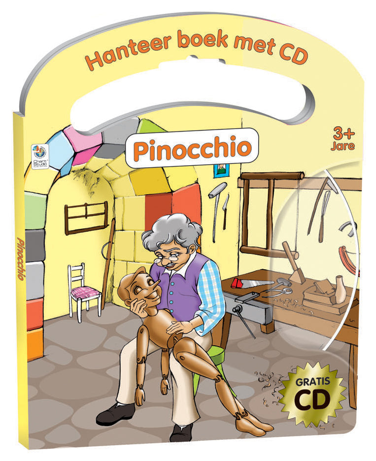Handle Book & CD AFR- Pinocchio
