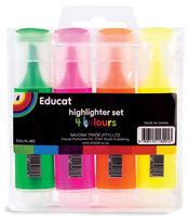 HIGHLIGHTER SET - 4 COLOURS