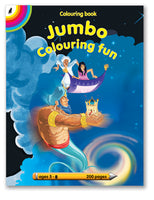 COLOURING BOOK - Jumbo Coloring Fun (200pg)