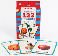 Big Flash Cards - Counting - 123  (AFR)