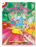 COLOURING BOOK - Lucky Times (48pg)