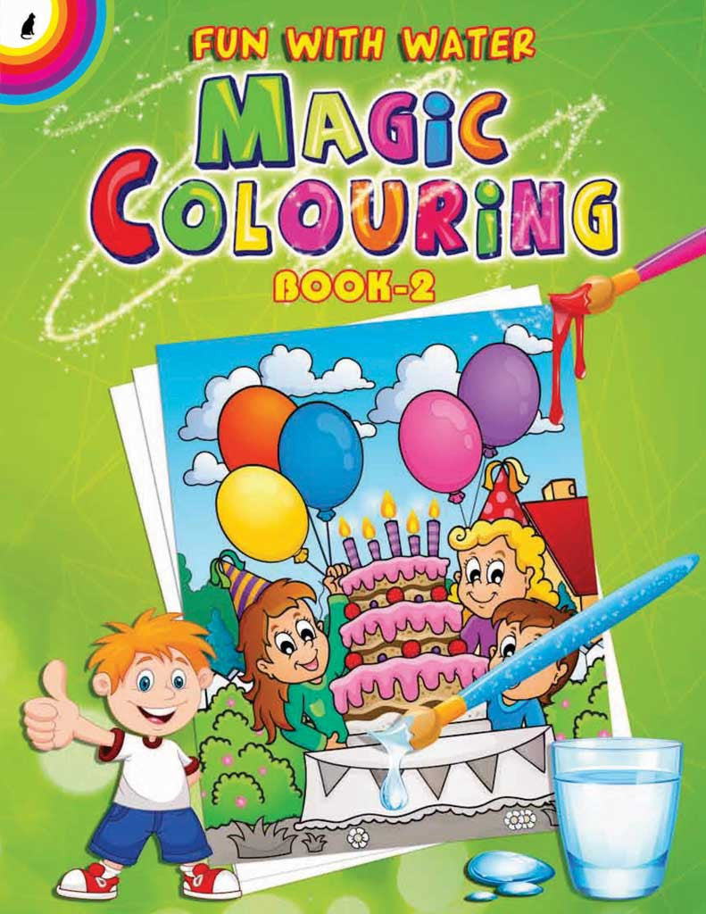 fun with water magic colouring book 2 - Fun Pictures To Colour In 2