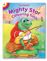 COLOURING BOOK - Mighty Star (60pg)