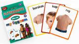 Big Flash Cards -My Body (LIGGAAM) AFR