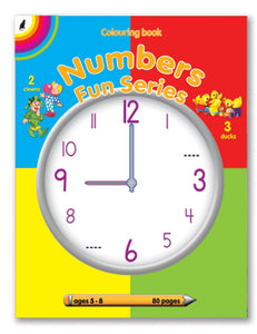 Number Fun Seriers (80pg) English