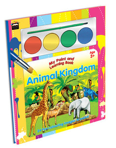 PAINT & LEARN-ANIMAL KINGDOM