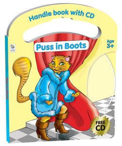 Handle Book & CD Puss in Boots
