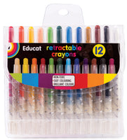 Retractable Crayons - Small (12s)