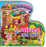 FAIRY FUN FAIR SHAPED GLITTER BOOK
