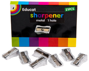 SHARPENER - 1 HOLE (BOX OF 21 PCS)