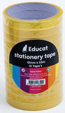 STATIONERY TAPE-12MM X 33M