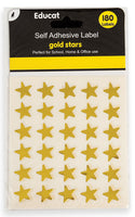 GOLD STARS STICKERS