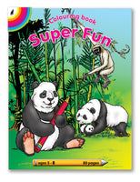 COLOURING BOOK - Super Fun (80)
