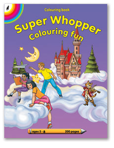 COLOURING BOOK - Super Whopper (220pg)