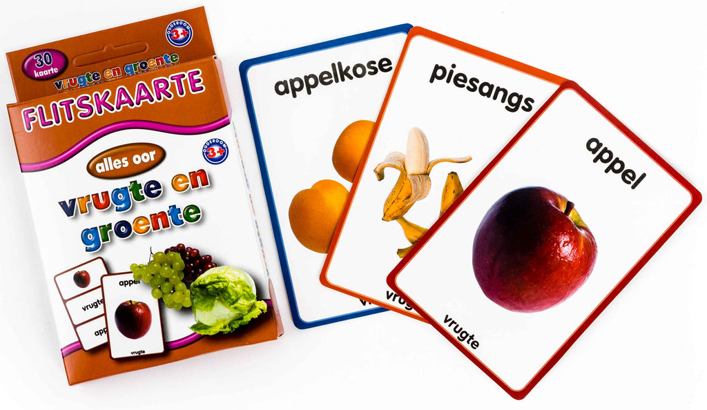 Big Flash Cards -Fruit & Vegetables
