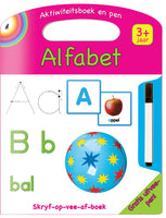 WRITE AND WIPE Alfabet - AFR