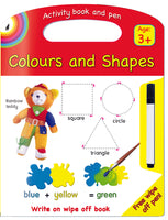 COLOURS & SHAPES WRITE AND WIPE - ENG