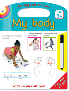 MY BODY WRITE AND WIPE - ENG