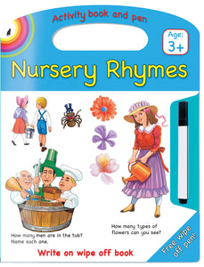 NURSERY RHYMES WRITE AND WIPE - ENG